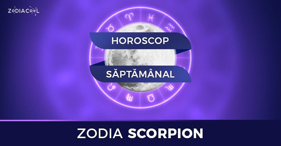 horoscop scorpio saptamanal viitoare