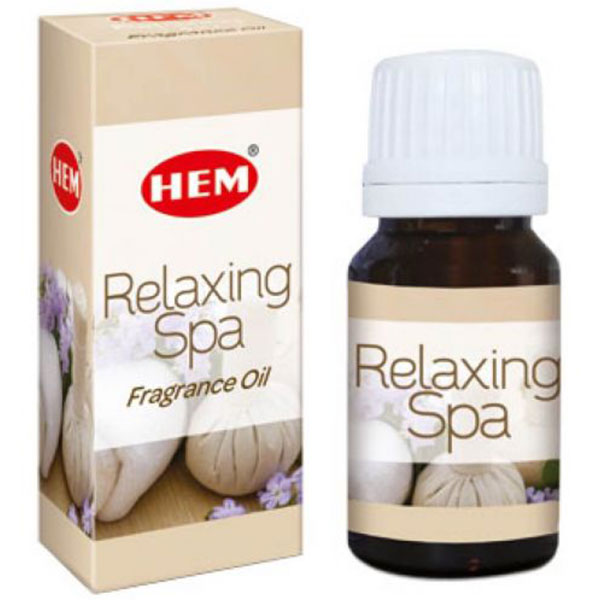 Relaxing Spa Ulei aromaterapie – pentru echilibru spiritual si mental, relaxare, 10 ml, HEM Relaxing Spa Fragrance Oil