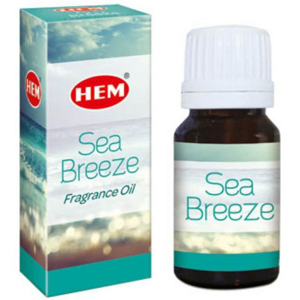 Sea Breeze Ulei aromaterapie, sugereaza parfumurile brizei marii, 10 ml, HEM Sea Breeze Fragrance Oil