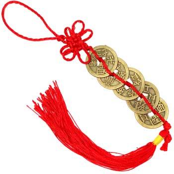 5 monede norocoase amuleta feng shui pentru armonie in relatii, intelepciune si generare vanzari