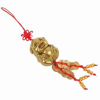 Purcelus, amuleta feng shui mistret pentru harnicie si noroc la bani, generozitate si altruism