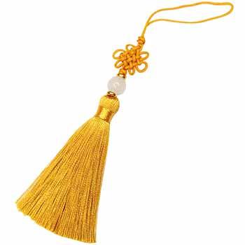 Nod mistic auriu, de mici dimensiuni, amuleta pentru noroc si dragoste