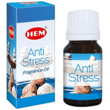 Antistres Ulei aromaterapie, pentru energizare, purificare, antistres, agitatie emotionala si mentala, 10 ml, HEM Antistress Fragrance Oil