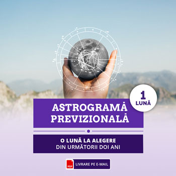 Astrograma pe 1 luna, previziuni pentru 30 zile cu evenimente importante, zile bune si zile rele