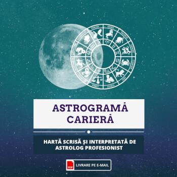 Astrograma cariera, orientare si evolutie profesionala pe durata vietii, format audio, cca 60 min