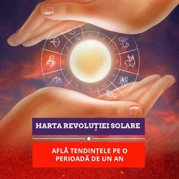 Revolutia solara, calcul si interpretare in direct cu astrologul, de la aniversarea zilei de nastere pana la urmatoarea aniversare, telefonic 30 minute