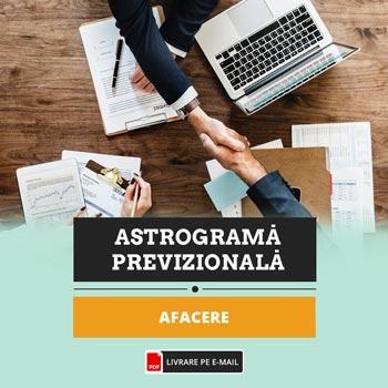 Astrograma evolutie afacere pentru 12 luni din perioada urmatoare cu previziuni investitii, fonduri, Zodiacool