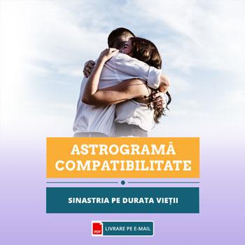 Astrograma compatibilitate, relatie karmica, astrograma casatoriei, sinastria pe durata relatiei de cuplu, Zodiacool