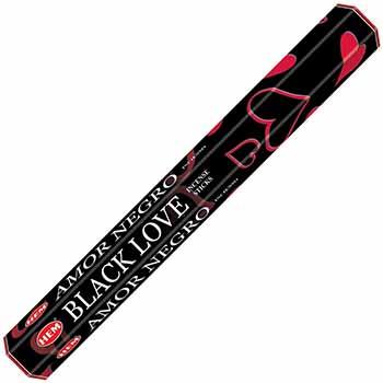 Betisoare parfumate Black Love gama HEM profesional, pentru readucerea dragostei