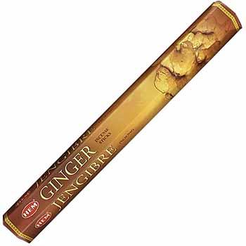 Betisoare parfumate Ghimbir gama HEM profesional, pentru energie pozitiva si placere