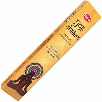 Betisoare parfumate Yog Chakra, profesional Hem, pentru relaxare, curatarea si echilibrarea energiei interioare