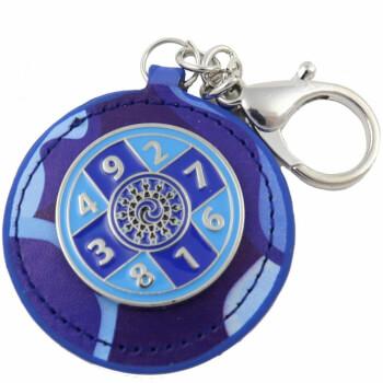 Suma de 10 breloc de completare noroc, amuleta feng shui, albastra