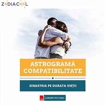 Astrograma casatoriei, compatibilitate cuplu si relatie karmica, interpretata de astrolog profesionist, format audio, cca 60 min