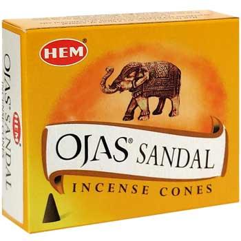 Conuri parfumate Sandal Ojas, Hem profesional, pentru vindecare si evolutie spirituala