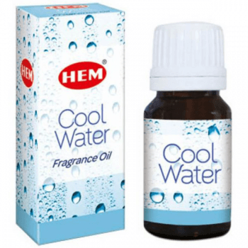 Cool Water Ulei aromaterapie – pentru o stare superbă de liniște, 10 ml, HEM Cool Water Fragrance Oil