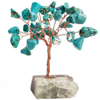 Copacei cu turcoaze, piatra pentru intarirea si amplificarea intentiilor noastre, set cu ghid zodiaccol