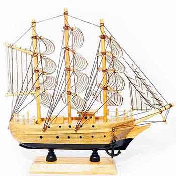Corabia bogatiei, pentru belsug si prosperitate in casa si birou, obiect feng shui folosit pentru a atrage bani