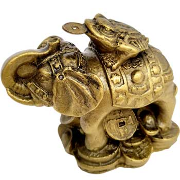 Elefant cu broasca in spate feng shui, amuleta dragoste, bogatie si pentru indepartarea obstacolelor