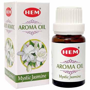 Iasomie Ulei aromaterapie, poate imbunatati starea de spirit, eliberarea de stres si anxietate, 10 ml, HEM Aroma Oil Mystic Jasmine