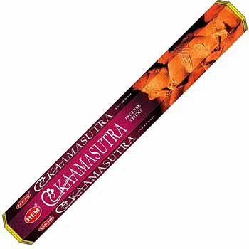 Betisoare parfumate Kamasutra gama HEM profesional, pentru  o atmosfera favorabila de afrodisiac senzual