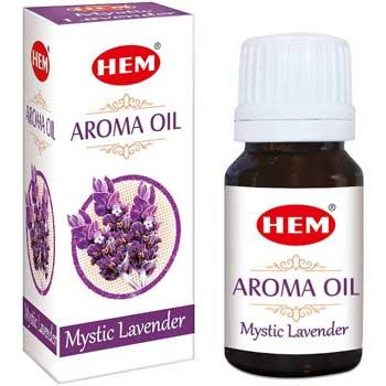 Lavanda Ulei aromaterapie, pentru a usura starile de tensiune si un somn odihnitor, 10 ml, HEM aroma oil Mystic Lavander