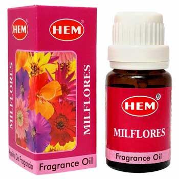 Milflores Ulei aromaterapie, pentru atmosfera primitoare, relaxare, distractie, 10 ml, HEM Fragrance Oil