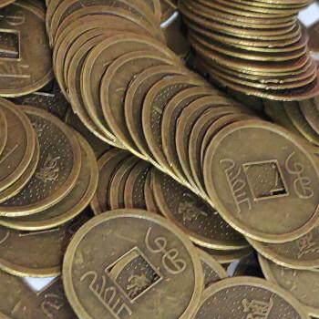 Monede chinezesti, amulete feng shui pentru prosperitate, bunastare, belsug, 24 mm