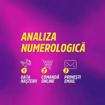 Analiza numerologica personala, studiul datei de nastere si traseul destinului, cca 24 pagini in format electronic