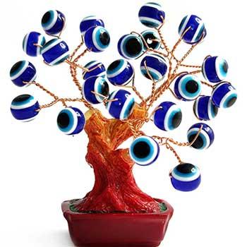 Copacel ochiul lui Horus, amuleta de protectie casa si spatiul de lucru, potenteaza intelepciunea, multicolor, 85 mm