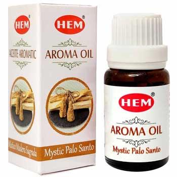 Lemn Ulei aromaterapie, pentru indepartarea energiilor negative, purificare, concentrare si creativitate, 10 ml, HEM aroma oil Mystic Palo Santo