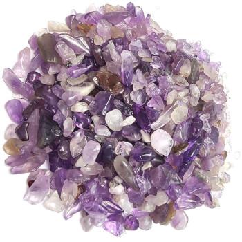 Pietre de ametist, cristale ale iubirii si ale protectiei, semipretioase, 26g