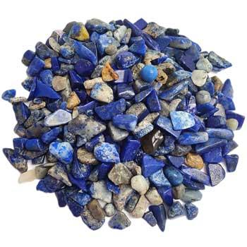 Pietre semipretioase, lapis lazuli, cristale albastre folosite pentru intelepciune si adevar, 26g