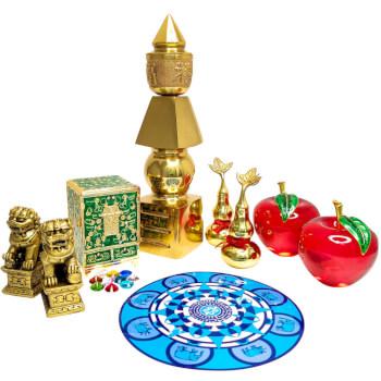 Protectie casa set amulete feng shui 2021, set 6 remedii pentru protectie impotriva tradarilor si bolilor, armonie in relatii si abundenta, kit standard