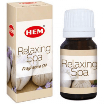 Relaxing Spa Ulei aromaterapie – pentru echilibru spiritual și mental, relaxare, 10 ml, HEM Relaxing Spa Fragrance Oil