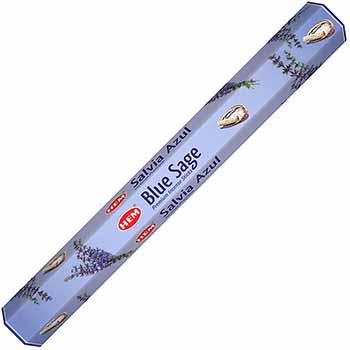 Betisoare parfumate Salvie Albastra, Hem Blue Sage, pentru purificarea spatiilor