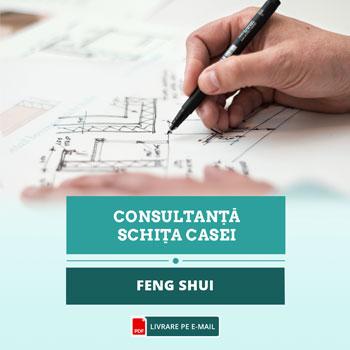 Casa Feng shui, asezare bagua pentru amenajarea locuintei si directii de dormit, consultanta in direct cu master feng shui