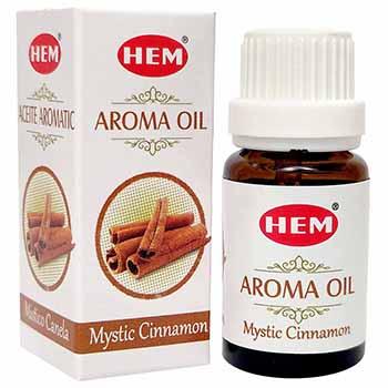 Scortisoara Ulei aromaterapie – pentru energie, siguranta, confort, antistres, 10 ml, HEM aroma oil Mystic Cinnamon