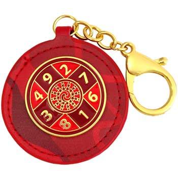 Suma 10 breloc de multiplicare noroc, amuleta feng shui, rosie