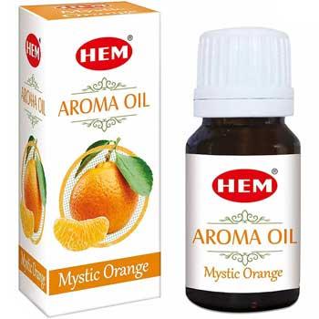 Orange Ulei aromaterapie portocale, stimulator si energizant, 10 ml, HEM aroma oil Mystic Orange
