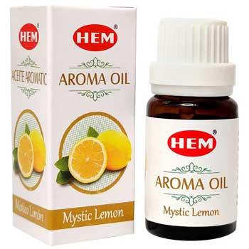 Lamaie Ulei aromaterapie, pentru curatarea aerului, purificare, intensificarea atentiei 10 ml, HEM aroma oil Mystic Lemon