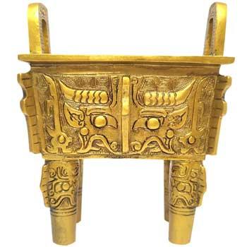 Vasul bogatiei in Feng Shui, folosit pentru a strange bani si simboluri de prosperitate